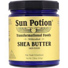 sun potion shea butter sun potion sun potion shea butter wildcrafted 7 8 oz 222 g walmart walmart