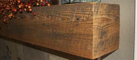buy hand distressed cedar mantel order