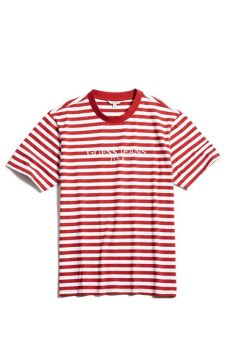 guess x asap rocky t shirt red in fashion a ap rocky and guess unveil guess originals collaboration stuff fly like sfpl