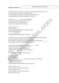 attention lyrics in hindi lyrics song quot attention quot by puth esl worksheet by miriamo