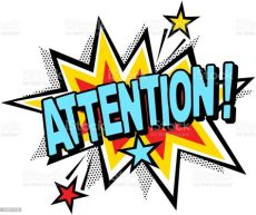 attention sign clipart attention stock illustration image now istock
