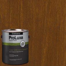 proluxe deck stain sikkens proluxe 1 gal hdgsrd st 201 chestnut brown cetol srd semi transparent exterior wood
