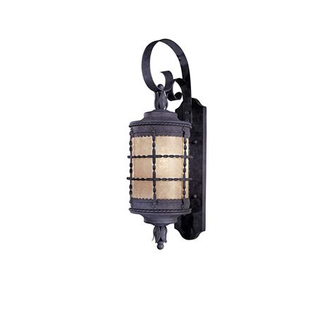 minka lavery mallorca 2 light spanish iron outdoor