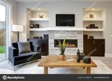 imagenes de salas modernas con chimeneas hermosa sala moderna interiores con muro piedra chimenea casa lujo foto de stock 169 iriana88w
