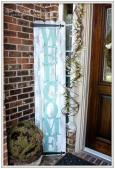 porch board welcome from my front porch to yours front porch 2014