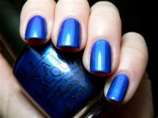 opi blue colors opi blue my mind nail