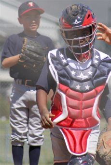 custom catchers gear all star all system7 usa ck912s7usa youth catcher s gear set