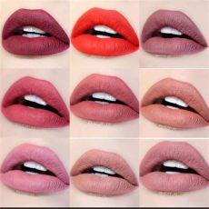 girlactik matte lip paint bashful girlactik matte lip paint colors from top left to right seductive iconic flirtatious
