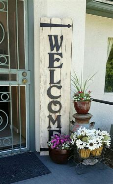 porch board welcome awesome front porch signs for more welcoming home