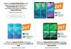 promociones at t de 2 215 1 y 2 215 1 189 en celulares huawei iphone y motorola - Promociones De Celulares Att