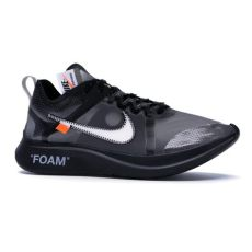 nike off white zoom fly black silver nike zoom fly x white black silver shoes blvcks culture