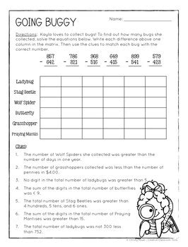 math logic puzzles 2nd grade enrichment christy howe