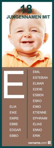 elia eike und ebbo k 246 nnten potenzielle namen f 252 r dein baby sein in unserer liste erf 228 hrst du - Schone Jungennamen Mit M
