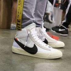 nike blazer mid off white outfit the 10 white nike blazer mid with images white shoes sneaker boots shoes big