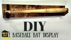 baseball bat display rack plans simple diy baseball bat display rack