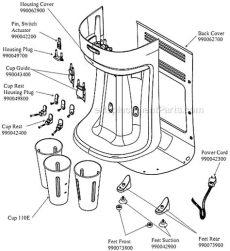 hamilton beach hmd400 parts hamilton hmd400 parts list and diagram c d ereplacementparts