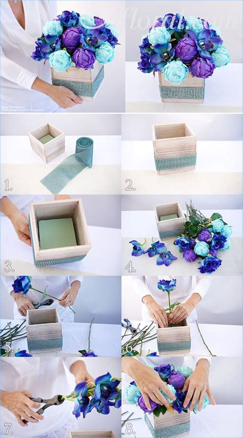 100 diy wedding centerpieces budget blue wedding centerpieces