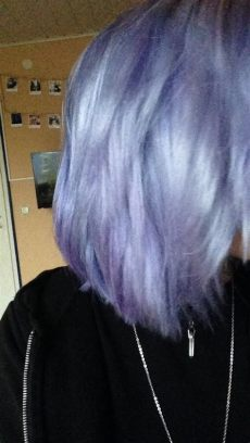 pastell lila haare directions pastell blau lila auf dunkel graue haare directions