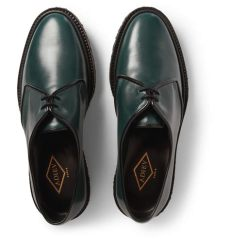 adieu shoes sizing lyst adieu type 1 crepe sole leather derby shoes in green for