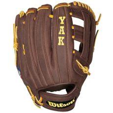 wilson yak baseball glove closeout wilson a1500 pro soft yak baseball glove 11 75 quot bbdw5