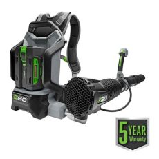 ego backpack blower 75 ego 145 mph 600 cfm 56 volt lithium ion cordless backpack blower with 5 0ah battery and charger