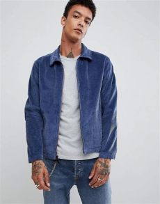 levi s skateboarding corduroy mechanics jacket in blue asos - Levis Skateboarding Corduroy Mechanics Jacket In Blue