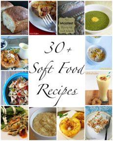 we read 30 soft food recipes - Saft Diat Rezepte