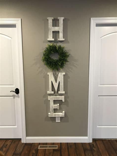 home letters wreath hobby lobby farmhouse decor living