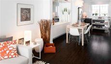 dark wood floors decorating ideas wood flooring layout matching tricks affecting the interior impression traba homes