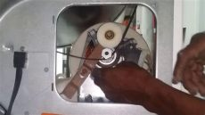 secadora a gas frigidaire inicia pero no da vueltas 191 como la reparo - Porque No Da Vueltas La Secadora