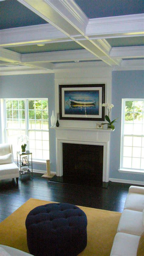 color paint ceiling part ii blue painted walls