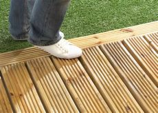 deck coating newsonair org - How To Make Timber Decking Non Slip