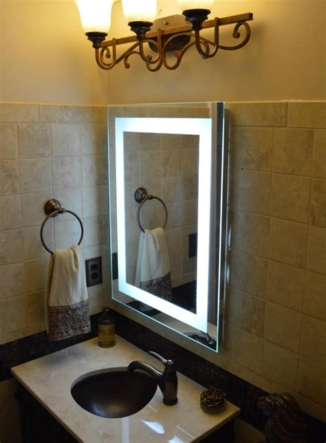 lighted vanity wall mirrors mirror ideas