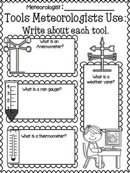 weather 1st grade wienerful teachers pay teachers