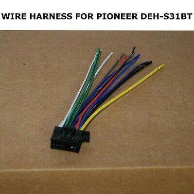 wire harness pioneer deh s31bt dehs31bt free fast