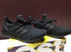 new adidas ultra boost 4 0 black sz 9 5 nubuck cage f36641 ub us mens 9 5 fashion - Adidas Ultra Boost 40 Triple Black Nubuck Cage