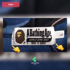 bape shirt tag real vs fake the most in depth real vs bape shark tiger hoodie guide