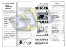 maquina de coser singer facilita 248 manual manual de maquina singer facilita oro 875 creativa 30 info taringa