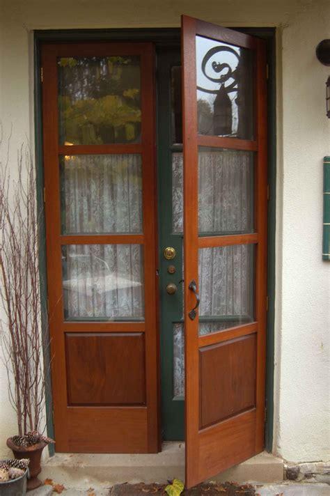 wood exterior french doors newsonair