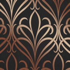henderson interiors camden damask wallpaper charcoal copper h980536 wallpaper from i - Camden Damask Wallpaper Charcoal Copper
