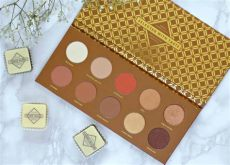 zoeva palette caramel melange zoeva blanc fusion and caramel melange palettes review swatches and comparison with cocoa