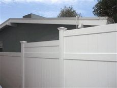 vinyl privacy fencing vinyl solid fencing lifetime warranty santa clarita valencia - Vinyl Fence Height Extension