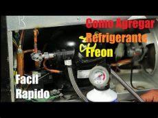 refrigerador de gas como cargar gas a un refrigerador simple
