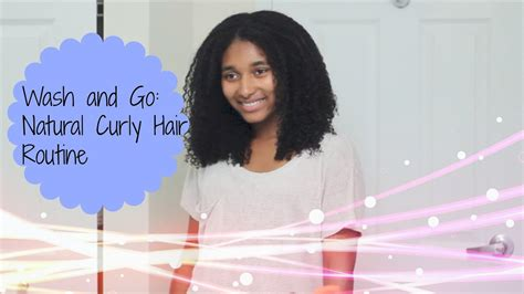 wash natural curly hair routine youtube