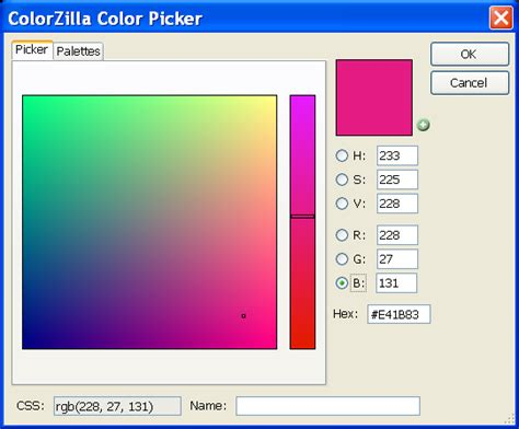 colorzilla firefox screenshots