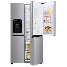 refrigerador lg door in door 22 pies refrigerador lg duplex door in door linear inverter con smart thinq wifi 22 pies c 250 bicos