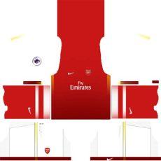 dls kit arsenal se1 home kit by ashlynmichelles on deviantart - Kit Dls Arsenal Fantasy