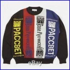 gosha rubchinskiy paccbet sweater new gosha rubchinskiy wool acrylic sweater black scarf paccbet lil peep sweater jumper