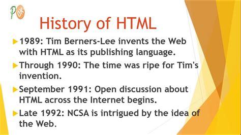 history html html html5 tutorials part2 tutorialshacks youtube