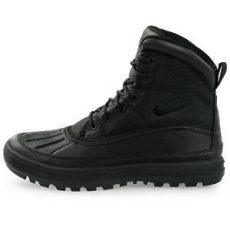 nike acg woodside 2 mens boots nike woodside ii acg duck boot leather waterproof black 525393 090 100 legit ebay